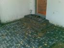Stopnie z obrzeży 6cm i kostki Arco Antyk w kolorze czarnym (Jadar)